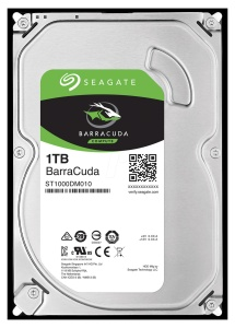 Seagate BarraCuda 1TB, SATA 6Gb/s (ST1000DM010)