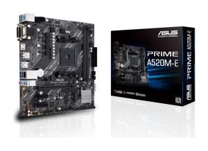 ASUS Prime A520M-E, AM4, AMD A520, µATX
