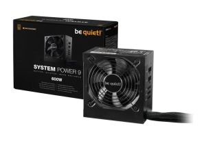 Be Quiet System Power 9 CM, 600 Watt, 80+, ATX 2.51