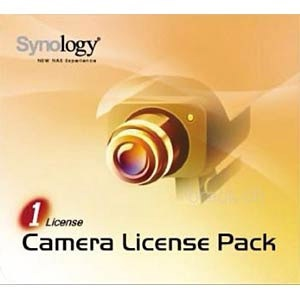 Synology Camera License Pack - Lizenz - 1 Kamera
