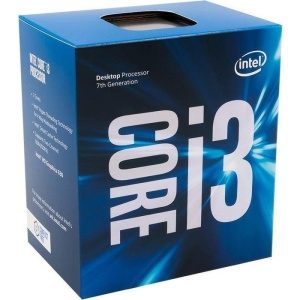 Intel Core i3-7100, 2 x 3900 MHz, Kaby Lake, boxed
