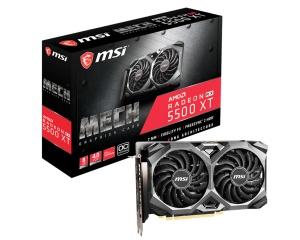 MSI Radeon RX 5500 XT Mech 8G OC, 8GB GDDR6,