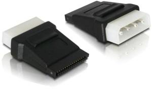 Delock Adapter Power SATA HDD > 4pin Stecker