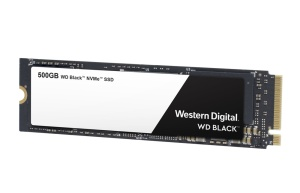 Western Digital WD Black NVMe SSD 500GB, M.2 [2018]