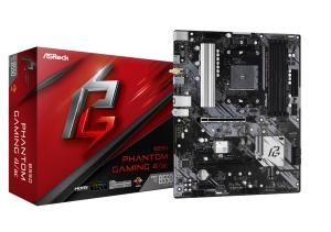 ASRock B550 Phantom Gaming 4/ac, AM4, AMD B550, ATX