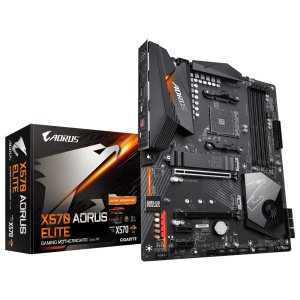 Gigabyte X570 Aorus Elite, AM4, AMD X570, ATX