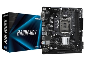 ASRock H410M-HDV, Intel H410 Chipsatz, µATX