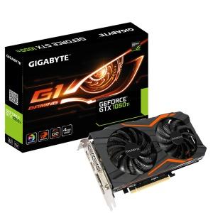 Gigabyte GeForce GTX 1050 Ti G1 Gaming 4G, 4GB GDDR5,