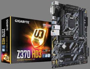 Gigabyte Z370 HD3, Intel Z370 Chipsatz, ATX