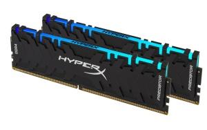 16GB Kit DDR4-RAM, 3200 MHz, Kingston HyperX Predator RGB,