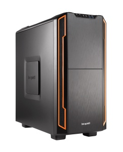 be quiet! Midi Tower Silent Base 600 schwarz-orange,