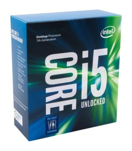 Intel Core i5-7600K, 4 x 3800 MHz, Kaby Lake, boxed