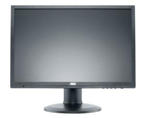 61cm TFT AOC e2460Phu, DVI, VGA, HDMI, höhenverstellbar,