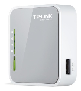 TP-Link tragbarer 3G/3,75G-Wireless-N-Router TL-MR3020