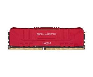 8GB DDR4-RAM, 3200 MHz, Crucial Ballistix rot
