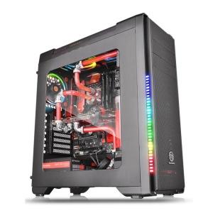 Thermaltake Versa C21 RGB schwarz mit Sichtfenster