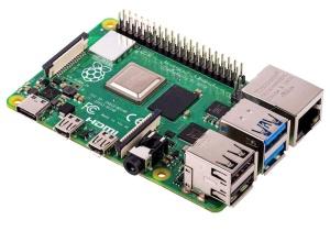 Raspberry Pi 4 Modell B, 4x 1,5 GHz, 2 GB DDR4
