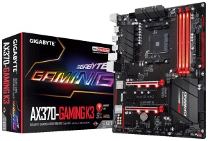 Gigabyte GA-AX370-Gaming K3, AM4, AMD X370, ATX
