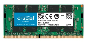 SO-DIMM 16GB DDR4, Crucial 2400 MHz, CL17