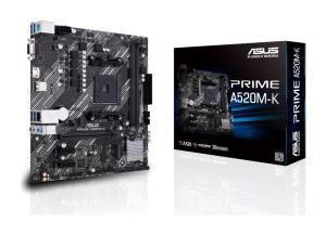 ASUS Prime A520M-K, AM4, AMD A520, µATX