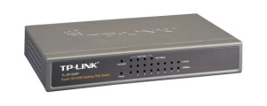 TP-Link Dualspeed-Switch TL-SF1008P 8 Port, PoE
