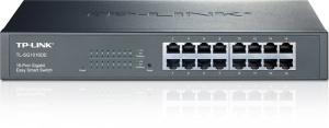 TP-Link 16-Port-Gigabit-Easy-Smart-Switch TL-SG1016DE