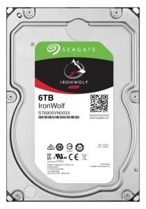 Seagate IronWolf ST6000VN0033, 6 TB, NAS
