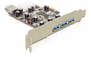 Delock PCI Express Karte 4 x USB 3.0,