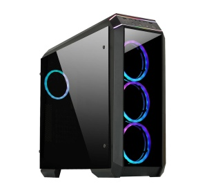 Chieftec Midi Tower Gaming Serie Stallion II GP-02B-OP,