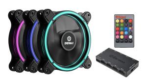 Enermax T.B.RGB, 120mm, 3er-Pack, LED-Steuerung