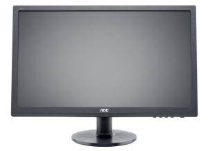 61cm 24 AOC e2460Pq/BK, DVI, VGA, DisplayPort, LED