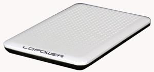 6,4cm S-ATA LC-Power LC-PRO-25WU, USB2.0, weiß