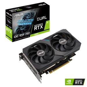 ASUS Dual GeForce RTX 3060 V2 OC, (90YV0GB2-M0NA10)
