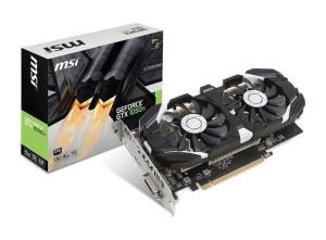 MSI GeForce GTX 1050 Ti 4GT OC, 4GB GDDR5,