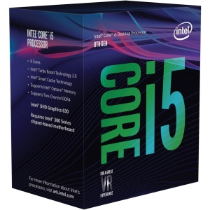 Intel Core i5-8500, 6x 3000 MHz, Coffee Lake, boxed