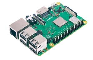 Raspberry Pi 3 Modell B+, 4x 1,4 GHz, 1 GB