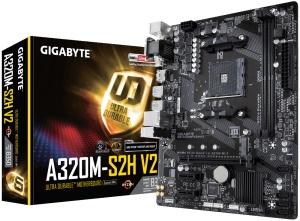 Gigabyte GA-A320M-S2H V2, AM4, AMD B350, µATX