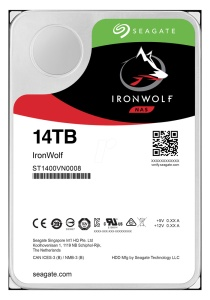 Seagate IronWolf ST14000VN0008, 14 TB, NAS