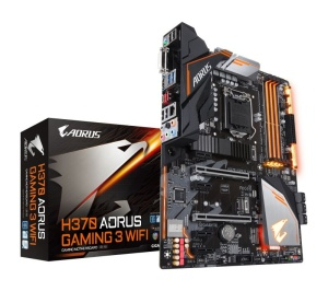 Gigabyte H370 AORUS GAMING 3 WIFI, Intel H370 Chipsatz, ATX