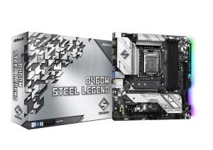 ASRock B460M Steel Legend, Intel B460 Chipsatz, µATX