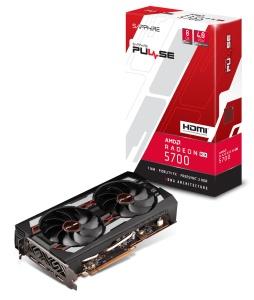 Sapphire Pulse Radeon RX 5700 8G, 8GB GDDR6,