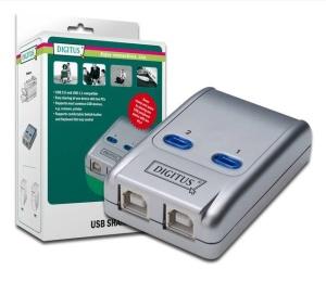 Digitus USB 2.0 Sharing Switch 2 PCs - 1 USB Endgerät
