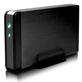8,9cm S-ATA FANTEC fanbox FB-35US2, USB2.0, eSATA
