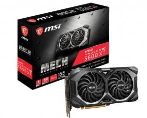 MSI Radeon RX 5600 XT Mech OC, 6GB GDDR6,