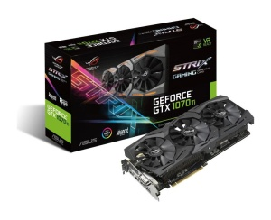 ASUS ROG Strix GeForce GTX 1070 Ti Advanced, 8GB GDDR5,