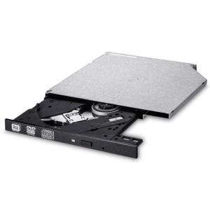 LG GUD0N, DVD-+R/-+RW, S-ATA, Slim, schwarz
