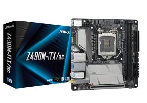 ASRock Z490M-ITX/ac, Intel Z490 Chipsatz, Mini-ITX