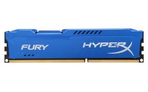 8 GB DDR3-RAM, 1600 MHz, Kingston HyperX Fury, blau,