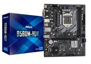 ASRock B560M-HDV, Intel B560 Chipsatz, µATX