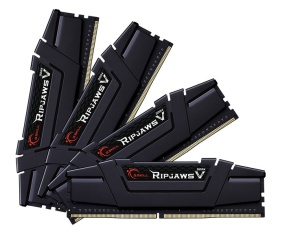 64GB Kit DDR4-RAM, 3600 MHz, G.Skill RipJaws V schwarz,